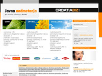 Slika naslovnice sjedišta: Javna nadmetanja (http://www.javnanadmetanja.hr)