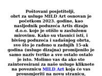 Slika naslovnice sjedišta: Artis dizajn d.o.o. (http://www.artisdizajn.hr)