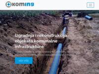 Slika naslovnice sjedišta: Koming d.o.o. Koprivnica - Komunalni inženjering (http://www.koming-kc.hr)