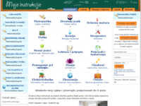 Slika naslovnice sjedišta: www.Moje-Instrukcije.com - Instrukcije (http://www.moje-instrukcije.com/)