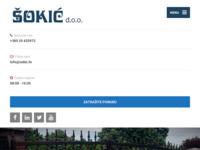Slika naslovnice sjedišta: Šokić proizvodi od metala (http://www.sokic.hr)