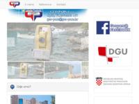 Slika naslovnice sjedišta: Geo pars za geodetske poslove - Split (http://www.geo-pars.hr/)
