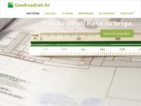Slika naslovnice sjedišta: Geokvadrat d.o.o. za izvođenje i organizaciju geodetskih poslova i digitalnih informacijskih sustava (http://www.geokvadrat.hr)