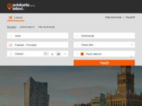 Frontpage screenshot for site: Letovi.hr - aviokarte, hoteli, rezervacije, kupnja (http://www.letovi.hr)