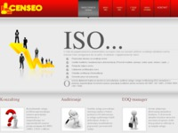 Frontpage screenshot for site: Censeo konzalting (http://www.censeo.com.hr/)