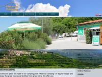 Frontpage screenshot for site: Motovun Camping Istra Hrvatska - kamping odmorište (http://www.motovun-camping.com/)