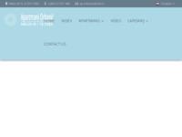Frontpage screenshot for site: Apartmani Orbanić Cres (http://www.apartmani-orbanic-cres.hr)