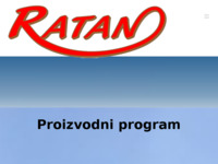 Slika naslovnice sjedišta: Ratan (http://www.ratan.hr)