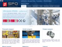 Slika naslovnice sjedišta: Oprema za naftnu, plinsku i procesnu industriju (http://specijalna-oprema.hr/)