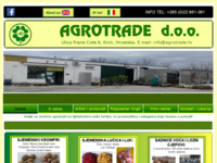 Slika naslovnice sjedišta: Agrotrade d.o.o. (http://www.agrotrade.hr)