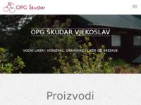 Slika naslovnice sjedišta: Vino od višanja i voćni likeri - OPG Vjekoslav Škudar (http://www.vocno-vino.com/)
