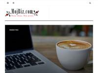 Slika naslovnice sjedišta: MojBiz poduzetnički portal (http://www.mojbiz.com)