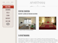 Frontpage screenshot for site: ApartmaniZG (http://www.apartmanizagreb-katanec.hr)