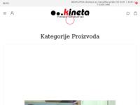 Slika naslovnice sjedišta: Kineta - Specijalizirani rekviziti za fitness, pilates, yogu, grupna vježbanja i individualne kondic (http://www.kinetafitness.com)