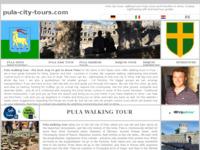 Slika naslovnice sjedišta: Turistička vođenja u Puli i po Istri s licenciranim turističkim vodičima (http://www.pula-city-tours.com)
