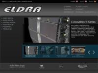 Frontpage screenshot for site: Eldra vjenčanja (http://vjencanja.eldra.hr/)