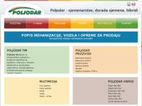 Slika naslovnice sjedišta: Poljodar - sjemenarstvo, dorada sjemena, hibridi (http://poljodar-tim.hr/)