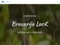 Frontpage screenshot for site: Bravarija-Lucić-crikvenica (http://www.bravarija-lucic.hr/ponuda.php)