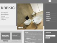 Slika naslovnice sjedišta: Krekić Zadar - namještaj po mjeri, sanitarije, izrada kuhinje po mjeri, tuš kade, tuš kabine (http://www.krekic.hr)