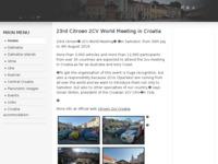 Frontpage screenshot for site: Hrvatska na fotogarfijama (http://croatia-photo.net)
