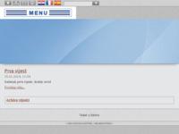 Frontpage screenshot for site: Italika (http://www.italika.hr)