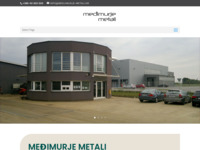Slika naslovnice sjedišta: medjimurje-metali.hr (http://www.medjimurje-metali.hr/)