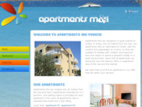 Frontpage screenshot for site: Apartmani M&I Vodice (http://www.apartments-m-and-i-vodice.com)