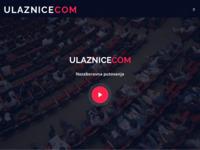 Frontpage screenshot for site: Ulaznice (http://www.ulaznice.com/)