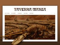 Frontpage screenshot for site: Taverna Marea (http://taverna-marea.hr)