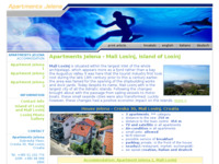 Frontpage screenshot for site: Apartmani Jelena, Mali Lošinj (http://www.losinj-jelena.com)