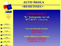 Slika naslovnice sjedišta: Auto škola Remetinec (http://autoskola-remetinec.inet.hr)