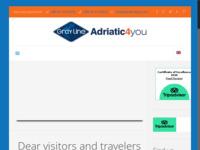 Frontpage screenshot for site: Smještaj, apartmani Trogir Adriatic4you - Putnička agencija (http://adriatic4you.com/)