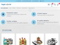 Slika naslovnice sjedišta: Prodaja motornih ulja i dijelova online (http://www.kupi-ulje.hr)
