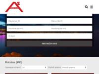 Slika naslovnice sjedišta: As Nekretnine - Najveća ponuda nekretnina na otoku Krku (http://www.asnekretnine.com/)