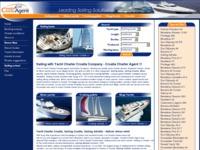 Frontpage screenshot for site: Hrvatski Charter Agent (http://www.croatia-charter-agent.com/)