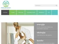 Slika naslovnice sjedišta: Eccoplan - ekološko grijanje i hlađenje proizvodima i tehnologijama obnovljive energije (http://www.eccoplan.hr)