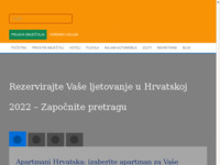 Frontpage screenshot for site: Anna Tours d.o.o. Njivice (http://www.annatours.hr)