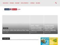 Slika naslovnice sjedišta: Zadarski Sportski Portal (http://www.zadarsport.com)