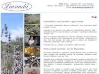 Slika naslovnice sjedišta: Lavanda - MGS d.o.o. (http://www.lavanda-mgs.hr/)