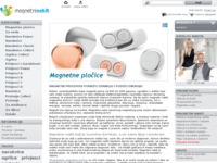 Frontpage screenshot for site: Magnetni nakit (http://www.magnetni-nakit.biz)