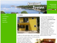 Frontpage screenshot for site: Apartmani Josipa - Privatni smještaj u Premanturi, Pula, Hrvatska (http://www.apartmani-josipa.com)