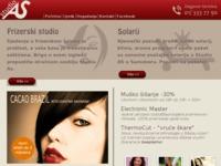 Slika naslovnice sjedišta: Studio AS - Frizerski studio i solarij u Samoboru (http://www.studioas.hr/)