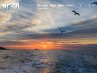 Frontpage screenshot for site: Orion (http://www.orion-travel.hr)