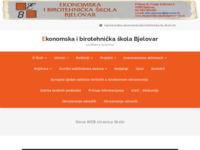 Slika naslovnice sjedišta: Ekonomska i birotehnička škola Bjelovar (http://www.ekonomska-skola-bjelovar.biz.hr/)