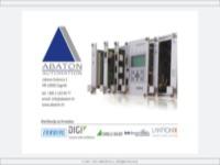 Frontpage screenshot for site: Abaton d.o.o. - industrijska elektronika i automatika (http://www.abaton.com.hr)