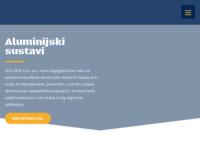 Frontpage screenshot for site: Alu-kon d.o.o. (http://www.alu-kon.hr/)
