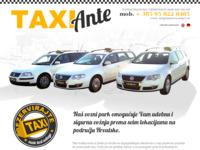 Slika naslovnice sjedišta: Taxi služba Ante iz Zadra - prijevoz putnika i taxi transferi u Hrvatskoj (http://www.taxiservice-zadar.com)