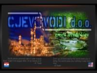Frontpage screenshot for site: Cjevovodi d.o.o. (http://www.cjevovodi.hr)