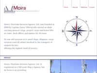 Frontpage screenshot for site: Moira - Agencija pomorskih usluga - Super Cargo - Nadzornik (http://www.moira-maritime.com/)