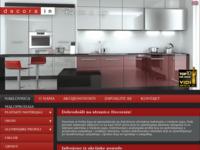 Slika naslovnice sjedišta: Decorain - distribucija materijala za interijere (http://www.decorain.hr)
